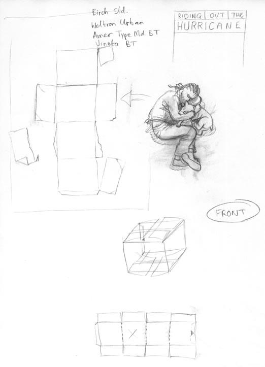 book cover design sketches