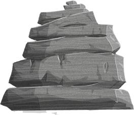 rock crag illustration