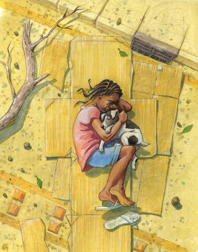 novel front cover illustration
