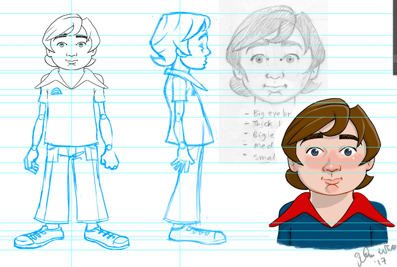 animation character design full length