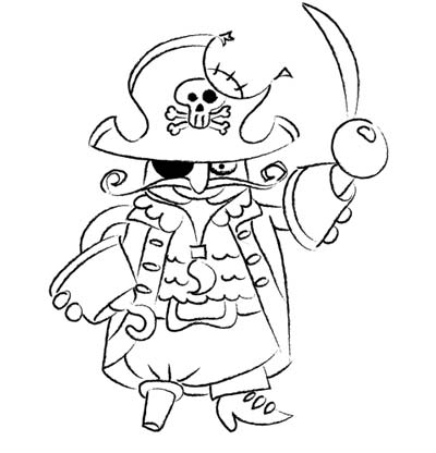 pirate sketch