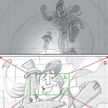 thumbnail of animation storyboard