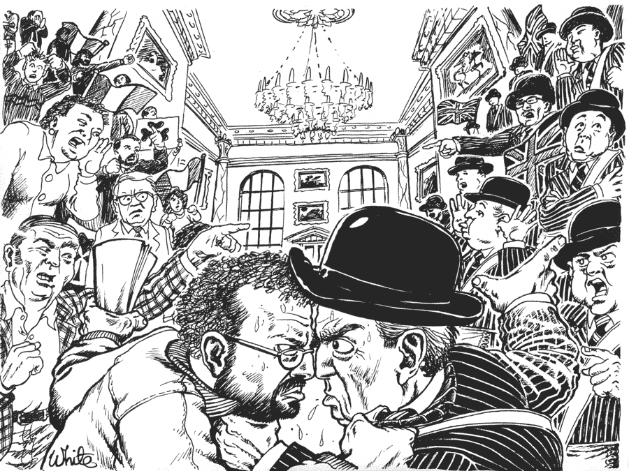 northern ireland parliament news illustration unionists republicans
