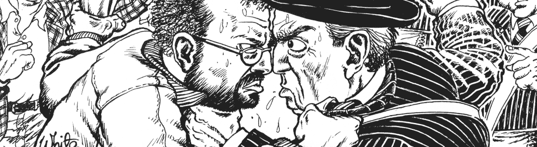 detail of northern ireland parliament news illustration unionists republicans