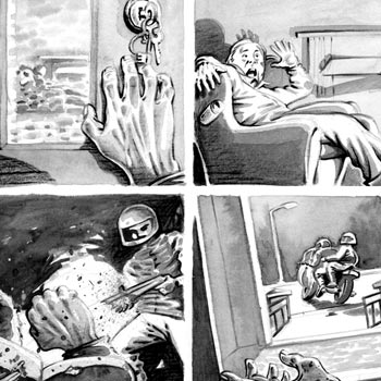 thumbnail illustration hitmen newspaper article