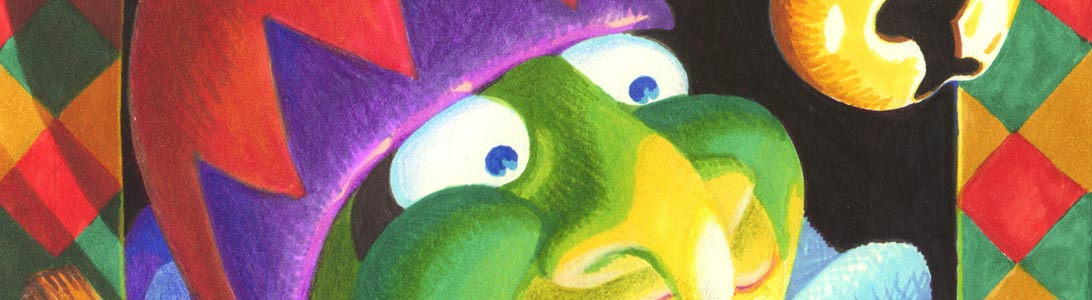 preview of illustration of mr punch puppet