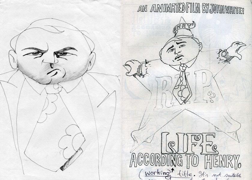 animation design sketches