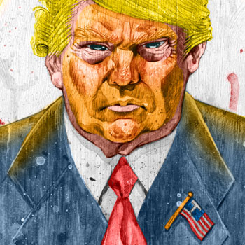 preview of donald trump illustration