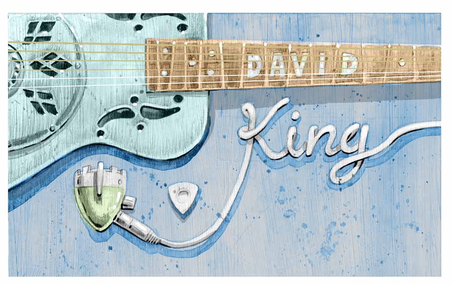 david king album art test piece