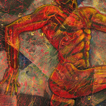 preview of an anatomical style painting vesalius