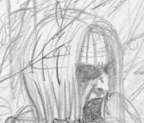 banshee design sketch