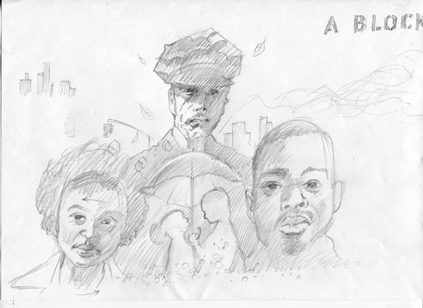 If beale Street could talk sketch
