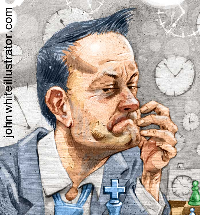 editorial newspaper illustration detail of leo varadkar fine gael