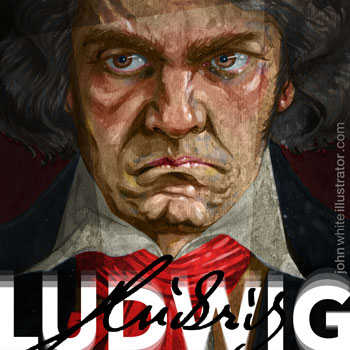 preview of painting of ludwig van beethoven