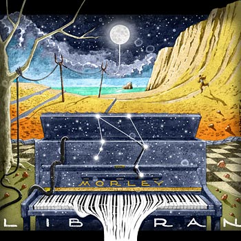 preview of illustration art for ep album cd cover for solo piano music artist